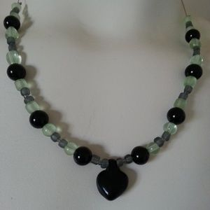 NWOT Handmade Beaded Necklace